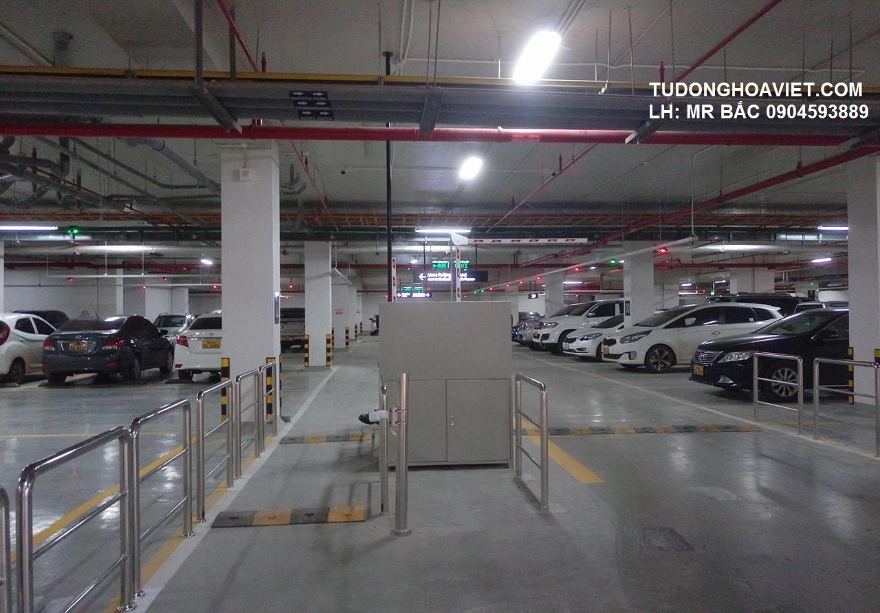 Hệ thống quản lý bãi giữ xe