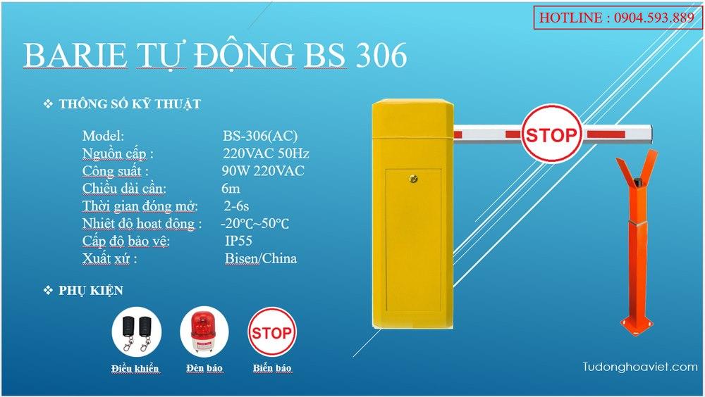 Barie tự động BS306 VHB