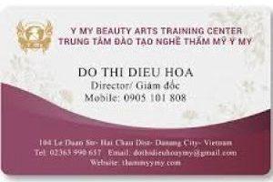 CARD VISIT PVC