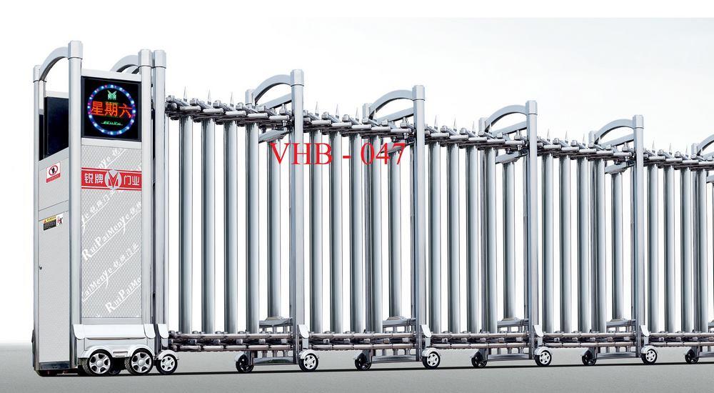 Cổng xếp inox vhb 047