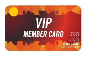 MEMBER CARD PVC - THẺ THÀNH VIÊN PVC VHB001