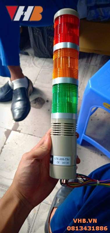 Đèn tháp 3 màu 12V