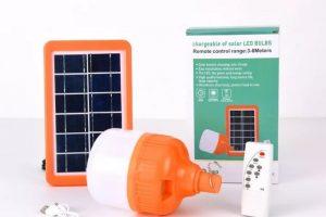 Đèn Bulb năng lượng mặt trời JinDian 50w JDX50