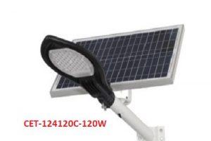 Đèn đường LED năng lượng mặt trời Solar light CET-124120C-120W