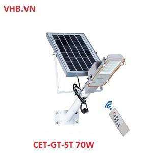 Đèn tích điện năng lượng mặt trời Solar light CET-GT-ST 70W