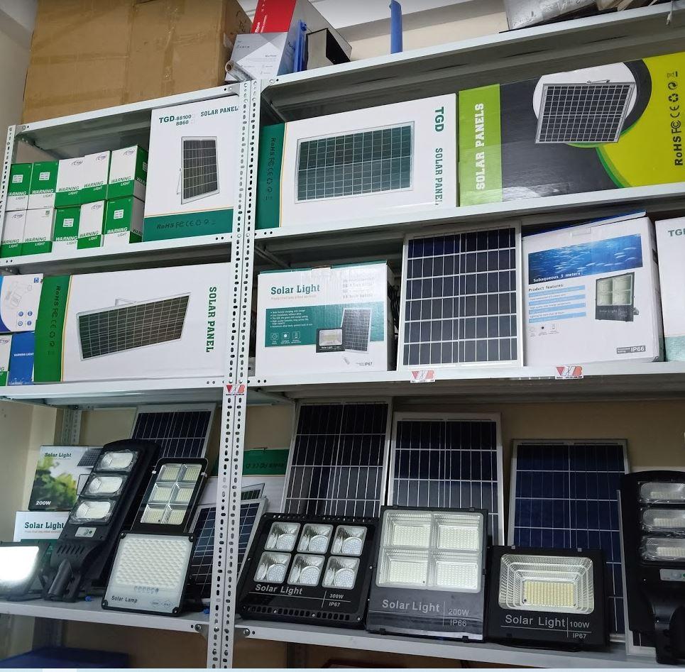 Đèn năng lượng mặt trời tiết kiệm điện VHB