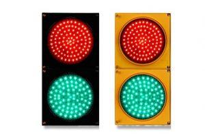 Đèn giao thông D150 năng lượng mặt trời