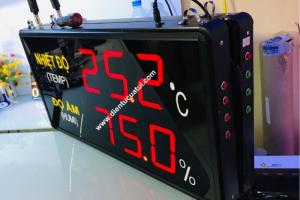 Bảng led kết nối bộ điều khiển nhiệt độ