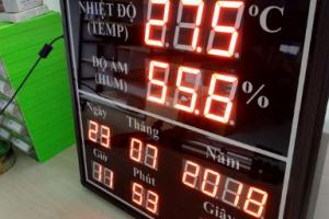 Bảng led quản lý nhiệt độ
