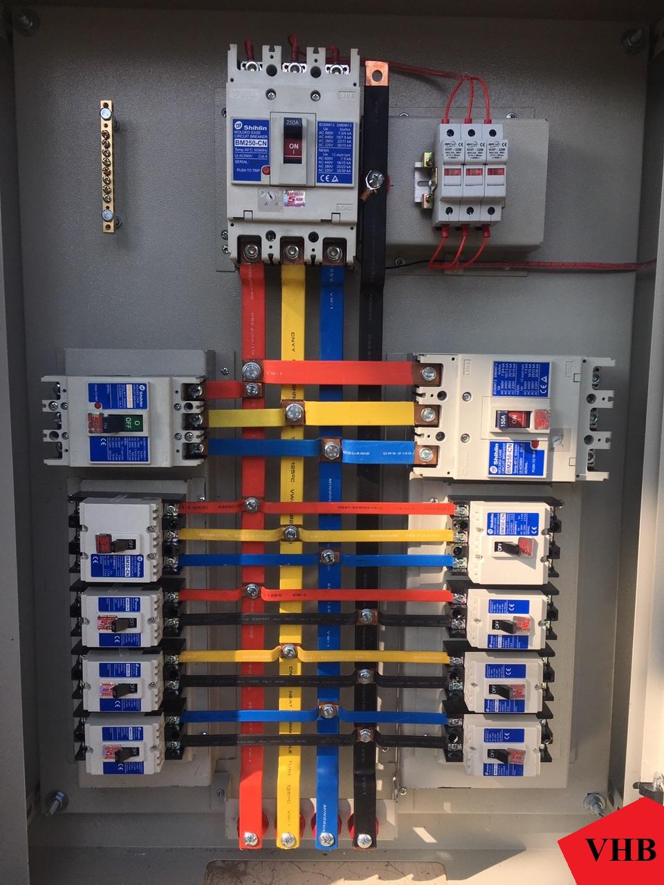 Thanh đồng dùng trong các tủ điện